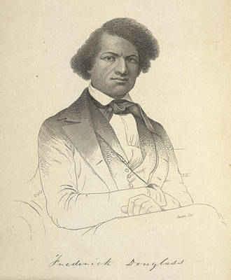 Abolition Photograph - Frederick Douglass by British Library
