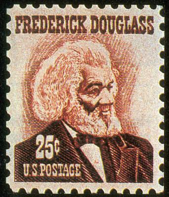 Frederick Douglass Photograph - Frederick Douglass, U.s. Postage Stamp by Science Source