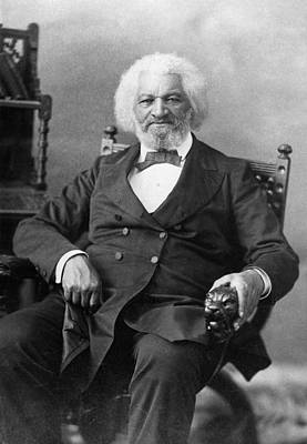 Carousel Collection Photograph - Frederick Douglass(c1817-1895) by Granger