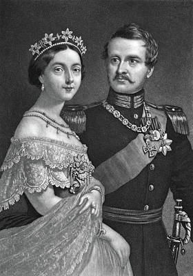 Prussia Painting - Frederick IIi & Victoria by Granger