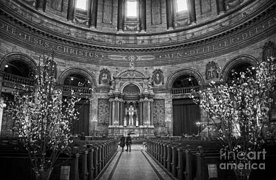 Photograph - Frederik's Church Interior by RicardMN Photography