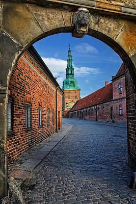 Frederiksborg Castle Hillerod Denmark Art Print