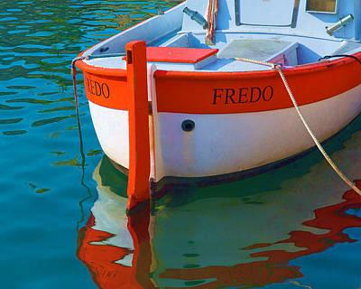 Photograph - Fredo by Joan Herwig