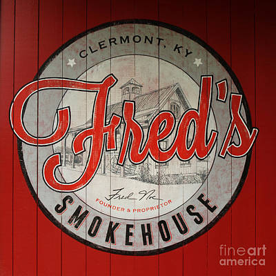 Photograph - Fred's Smokehouse by Mary Capriole