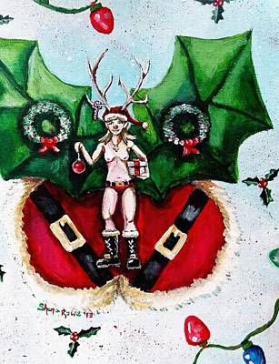 Painting - Free As Christmas Spirit by Shana Rowe Jackson