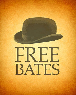 Free Bates Art Print by Design Turnpike