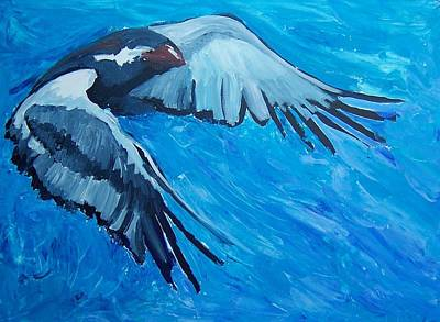 Painting - Free Bird by Krista Ouellette