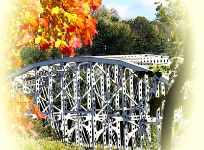 Photograph - Free Bridge From Lafayette College by Jacqueline M Lewis