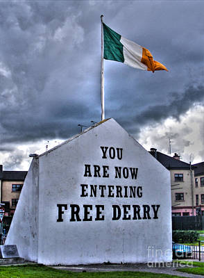 Photograph - Free Derry Wall by Nina Ficur Feenan