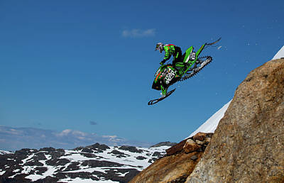 Downhill Photograph - Free Fall by Christian Otnes