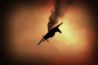 South African Air Force Photograph - Free Falling  by Paul Job