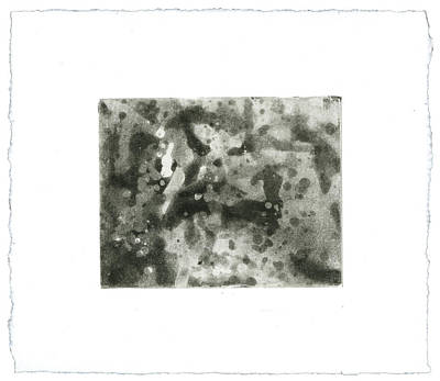 Printmaking Mixed Media - Free Form Acid Etch by Michael Moore
