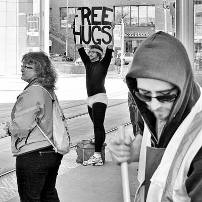 Photograph - Free Hugs by Trever Miller
