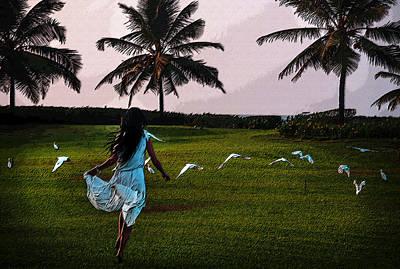 Photograph - Free Like The Birds by Jenny Rainbow