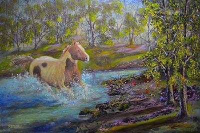 Fantasy Painting - Free by Michael Mrozik