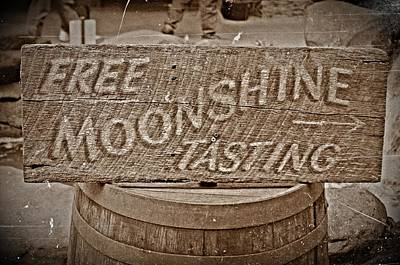 Free Moonshine Art Print