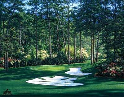 Digital Art - Free Print 10th At Augusta by Larry Dyke