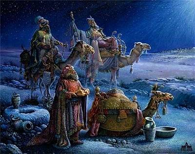 Digital Art - Free Print And Wise Men Came Bearing Gifts by Tom duBios