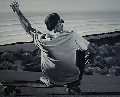 Free Ride Art Print by Jessi Smith