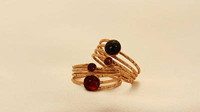 Adjustable Ring Jewelry - Free Shipping Classic Gold Filled Ring With Tourmaline Stone by Batya Salomon