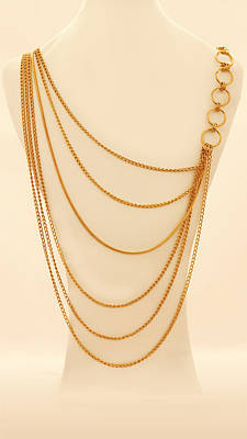 Free Shipping Gold Chains Necklace Original