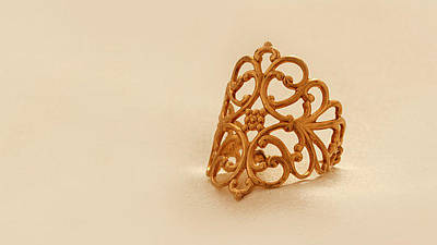 Adjustable Ring Jewelry - Free Shipping Gold Filled Retro Ring by Batya Salomon