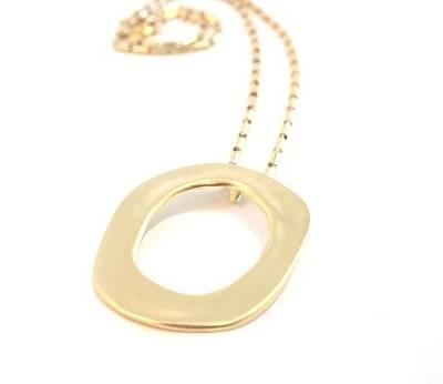 Free Shipping Idit Stern Infinity Lock Pendant Necklace Original