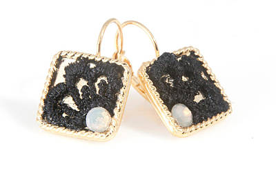Free Shipping Idit Stern Sweet Squares Earrings Original