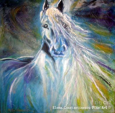 Free Spirit Art Print by Elena  Constantinescu