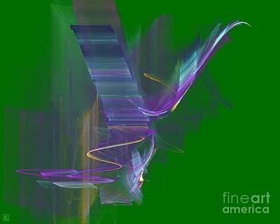 Artport Digital Art - Free Spirit In Flight by Jeanne Liander
