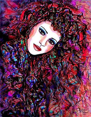 Free Spirit Art Print by Natalie Holland
