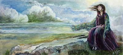 Sit-ins Painting - Free Spirit by Siobhan Lewis