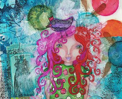 Mixed Media - Free Yourself by Barbara Orenya