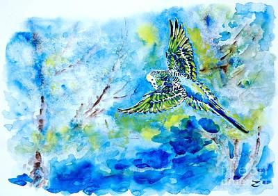 Free Print by Zaira Dzhaubaeva