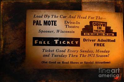 Drive In Theater Photograph - Freebee by The Stone Age