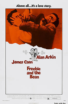 James Caan Photograph - Freebie And The Bean, Us Poster by Everett