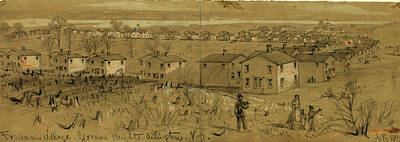 Freedmans Village, Greene Heights Arlington Art Print by Quint Lox