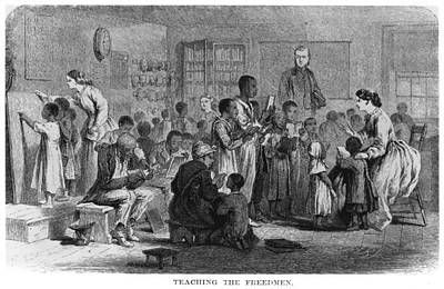 Painting - Freedmen's School, 1865 by Granger