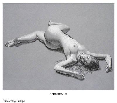 Joe Ogle Painting - Freedom 2 Print Version by Joseph Ogle