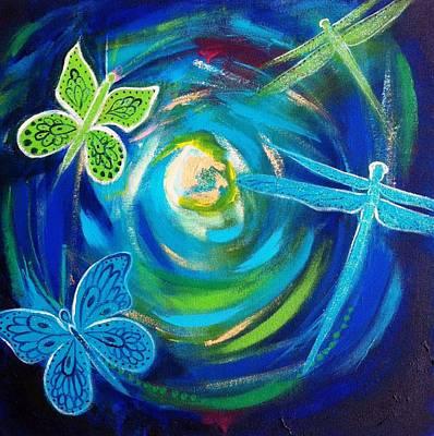 Painting - Freedom by Alexandra Florschutz
