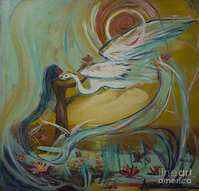 Painting - Freedom by Avonelle Kelsey