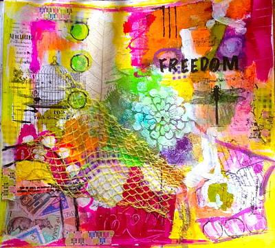 Freedom  Art Print by Corina  Stupu Thomas