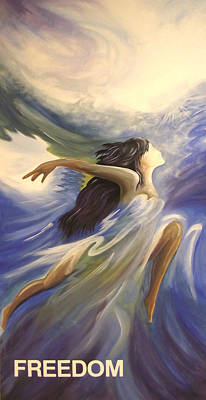 Painting - Freedom Dancer by Marvin Barham
