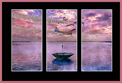 Beautiful Scenery Digital Art - Freedom Flyers by Betsy Knapp