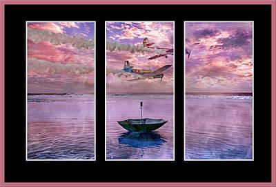 Transportation Digital Art - Freedom Flyers by Betsy Knapp