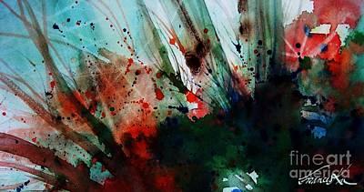 Painting - Freedom by Frances Ku