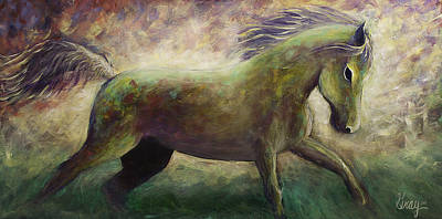Painting - Freedom Horse Art  by Gray  Artus