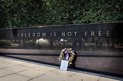 Photograph - Freedom Is Not Free by Sennie Pierson