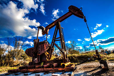Oil Pumper Photograph - Freedom by Jerad  Roberts