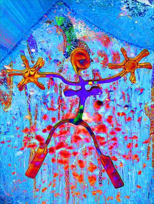 Digital Art - Freedom by Kamou Fleur